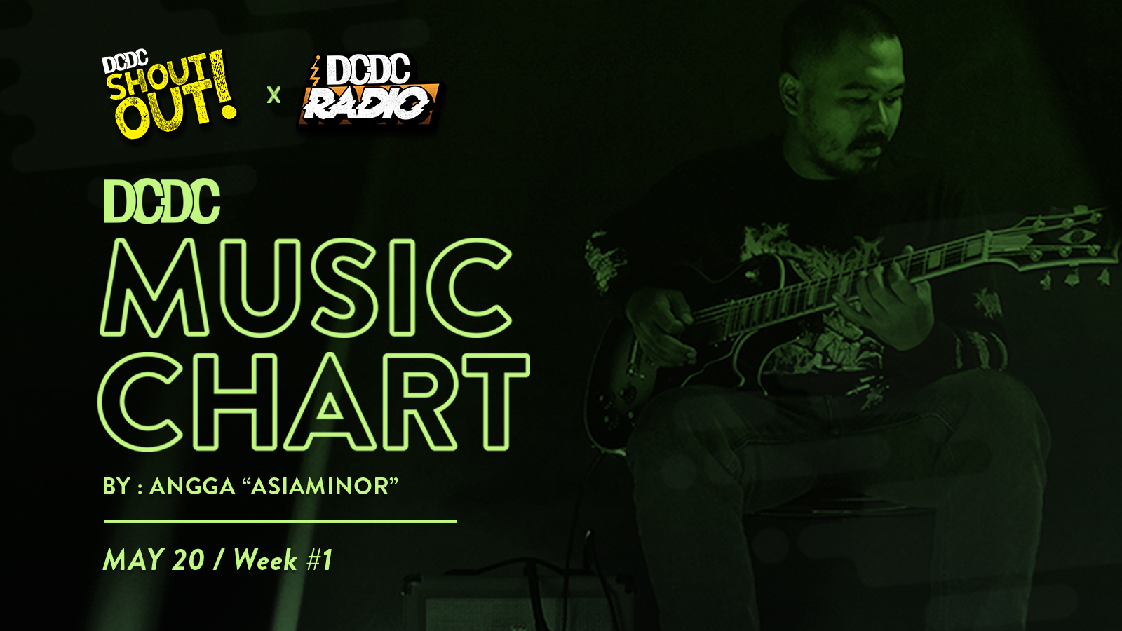 DCDC Music Chart - #1st Week of May 2020