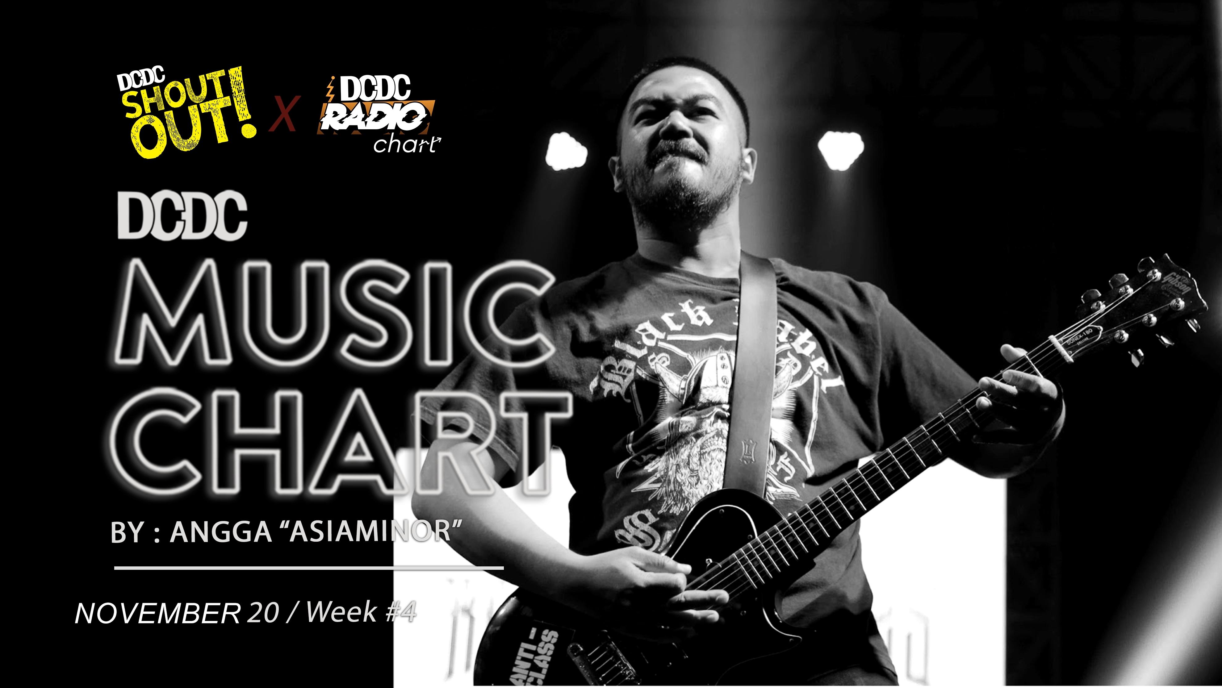 DCDC Music Chart - #4th Week of November 2020