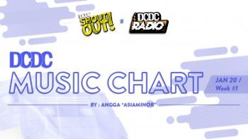 DCDC Music Chart - #1st Week of Januari 2020