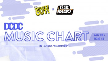 DCDC Music Chart - #2nd Week of Januari 2019