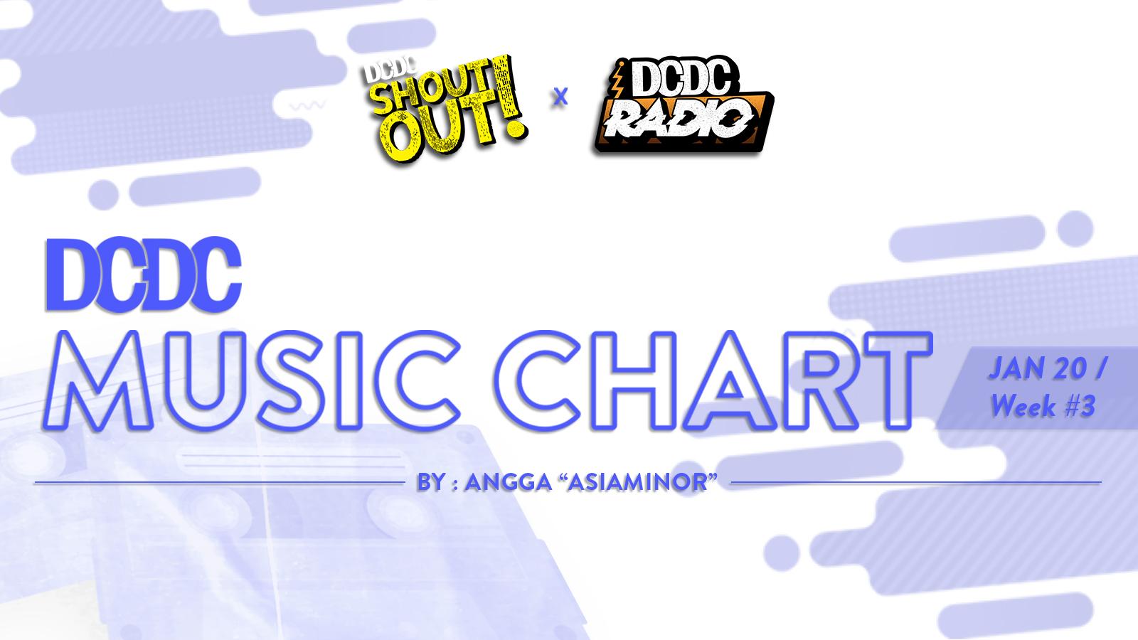 DCDC Music Chart - #3rd Week of Januari 2019