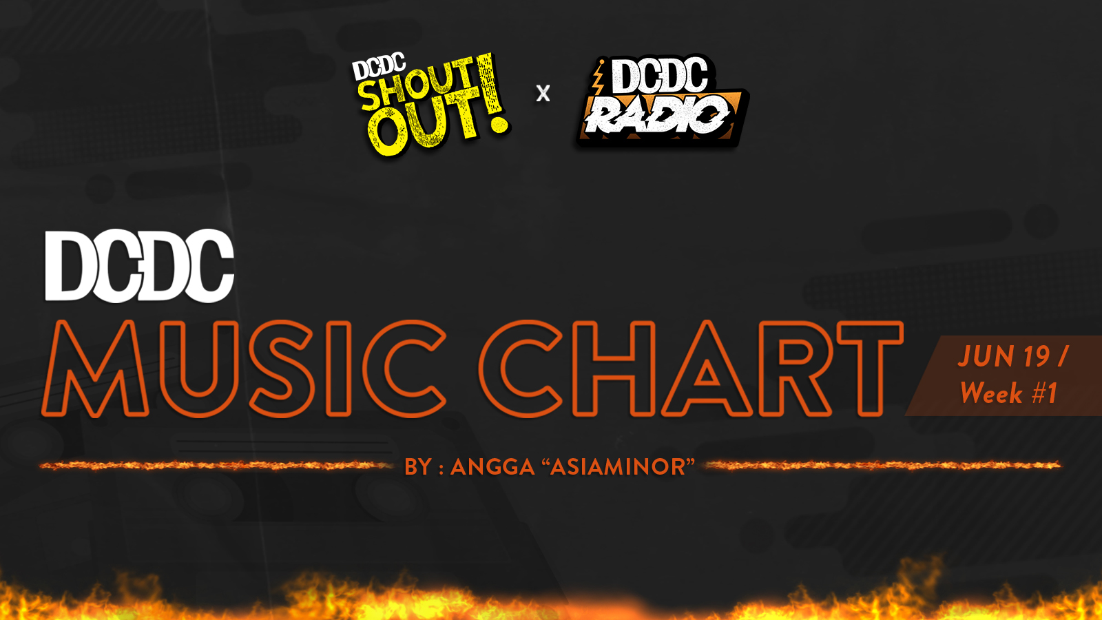 DCDC Music Chart - #1st Week of June 2019