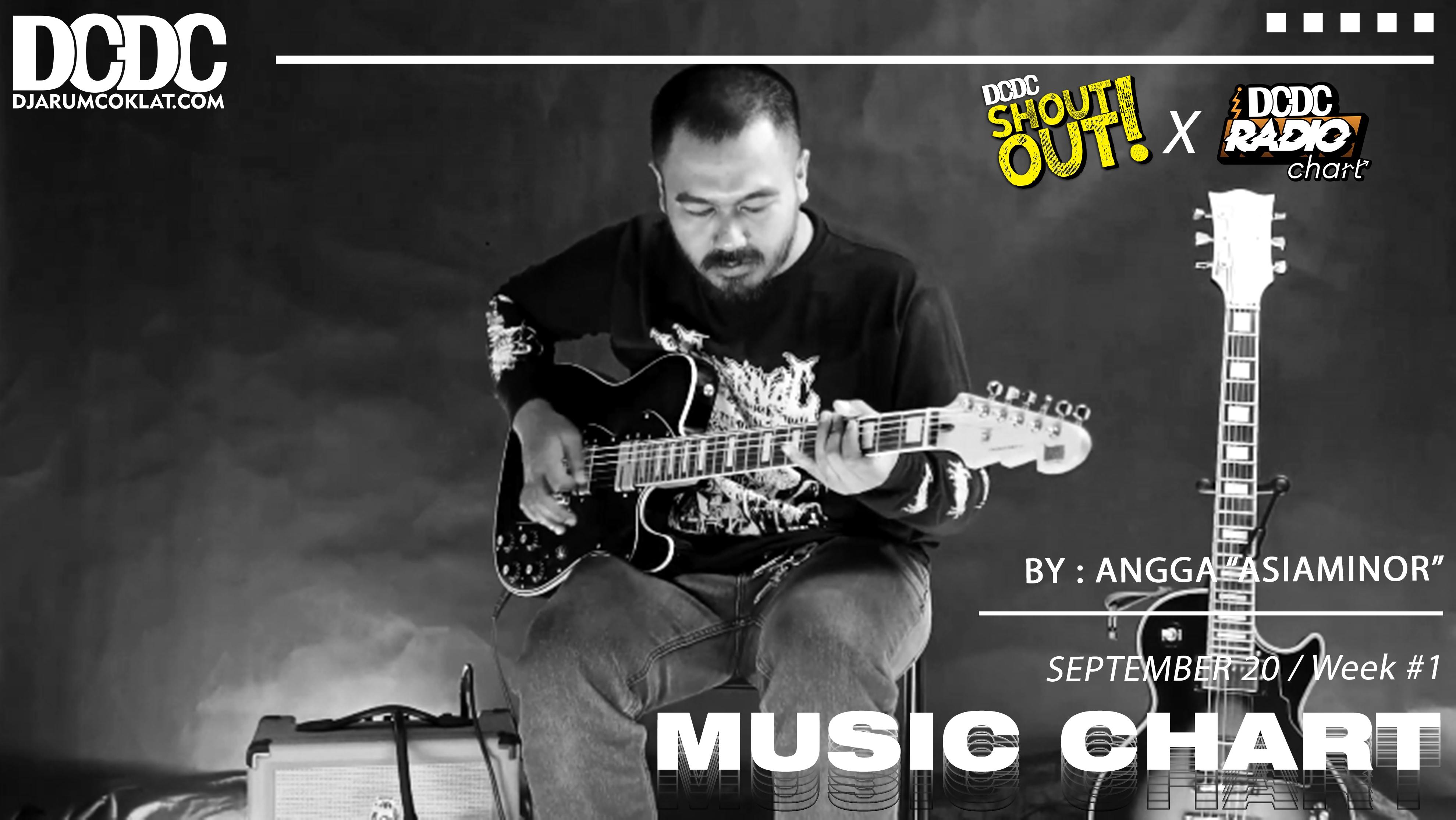 DCDC Music Chart - #1st Week of September 2020