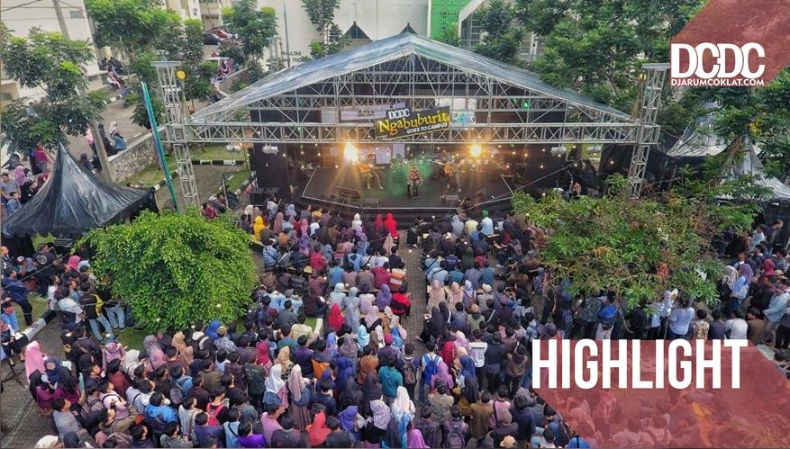 Hari Pertama DCDC Ngabuburit Goes To Campus Sukses Memeriahkan Kampus UIN Bandung