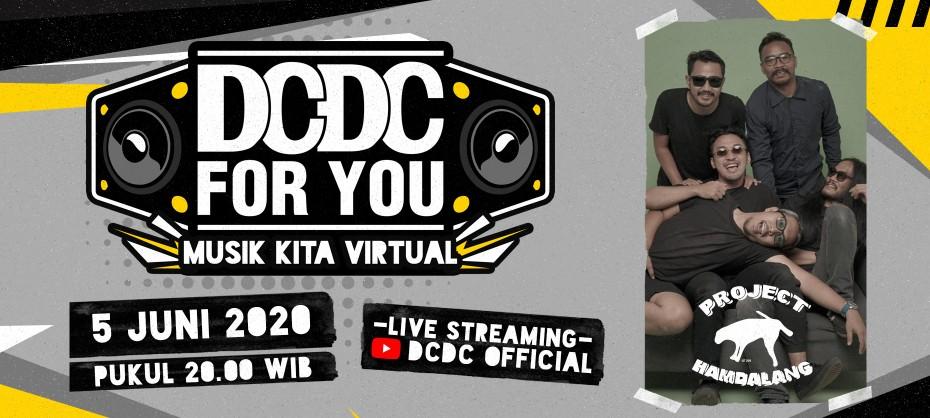 DCDC MUSIK KITA VIRTUAL EPS. 1 - PROJECT HAMBALANG