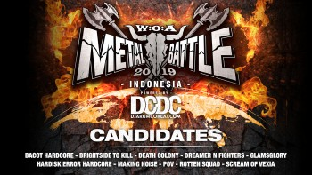 Kandidat W:O:A Metal Battle Indonesia 2019 #5