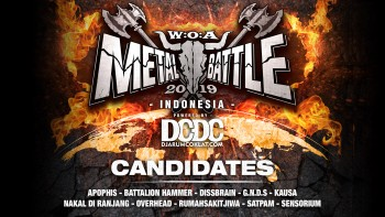 Kandidat W:O:A Metal Battle Indonesia 2019 #6