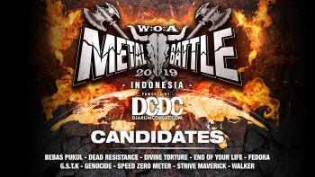 Kandidat W:O:A Metal Battle Indonesia 2019 #8