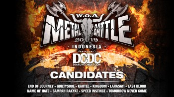 Kandidat W:O:A Metal Battle Indonesia 2019 #9