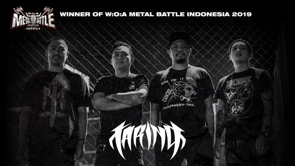 TARING - Winner of W:O:A Metal Battle Indonesia 2019