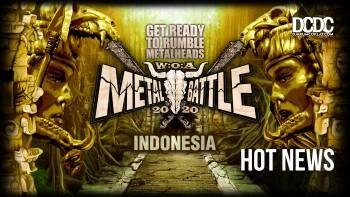 Untuk Semua Band Musik Ekstrem, Registrasi W:O:A Metal Battle Indonesia 2020 Sudah Dibuka