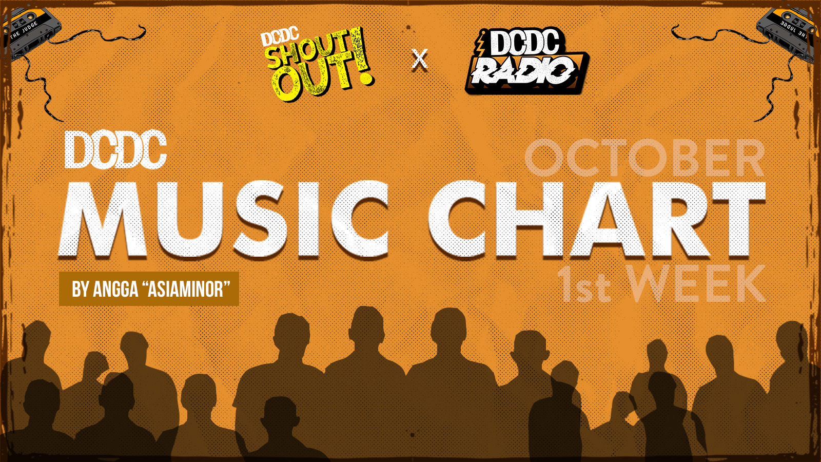 DCDC Music Chart - #1st Week of October 2018