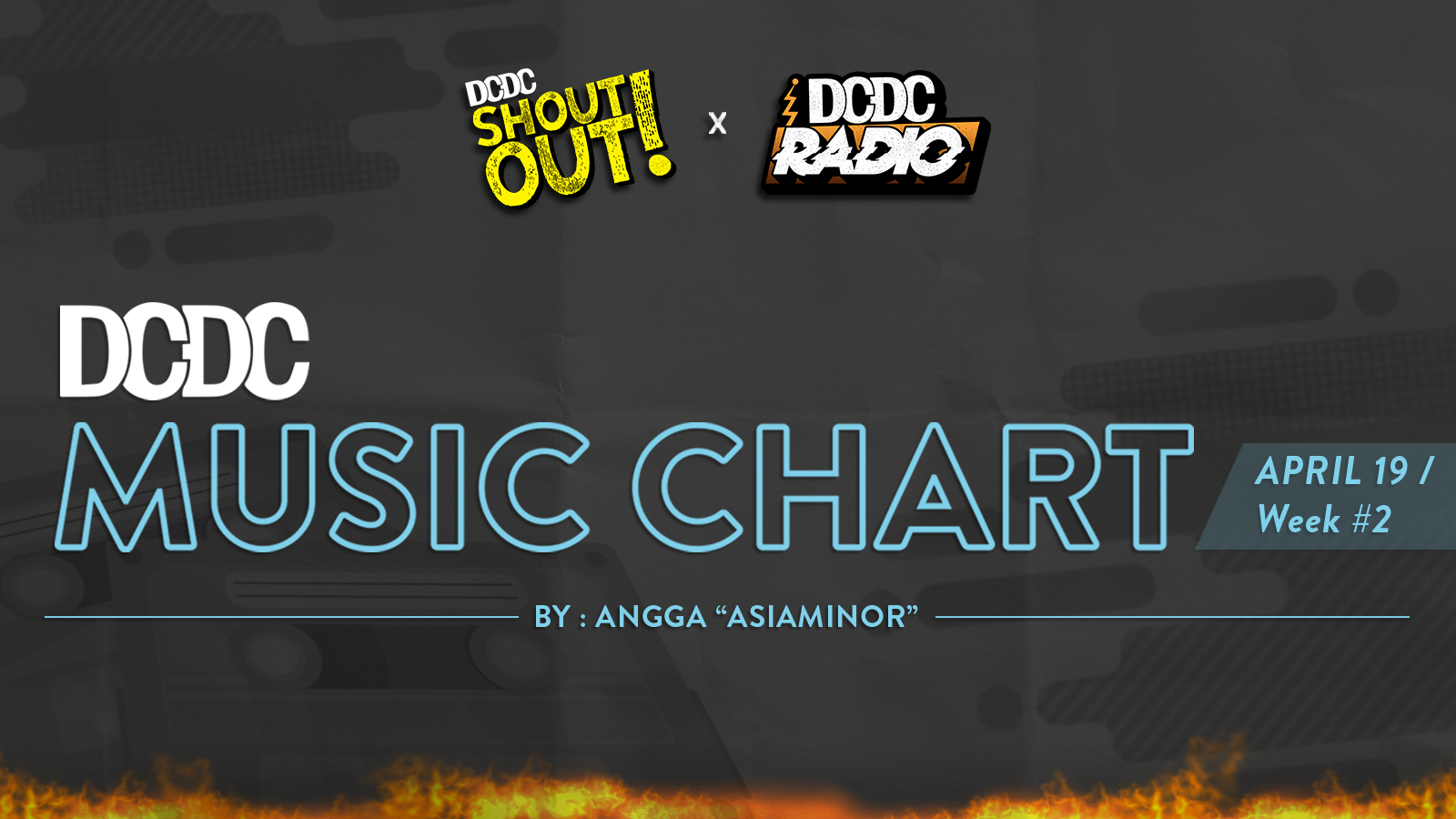DCDC Music Chart - #2nd Week of April 2019