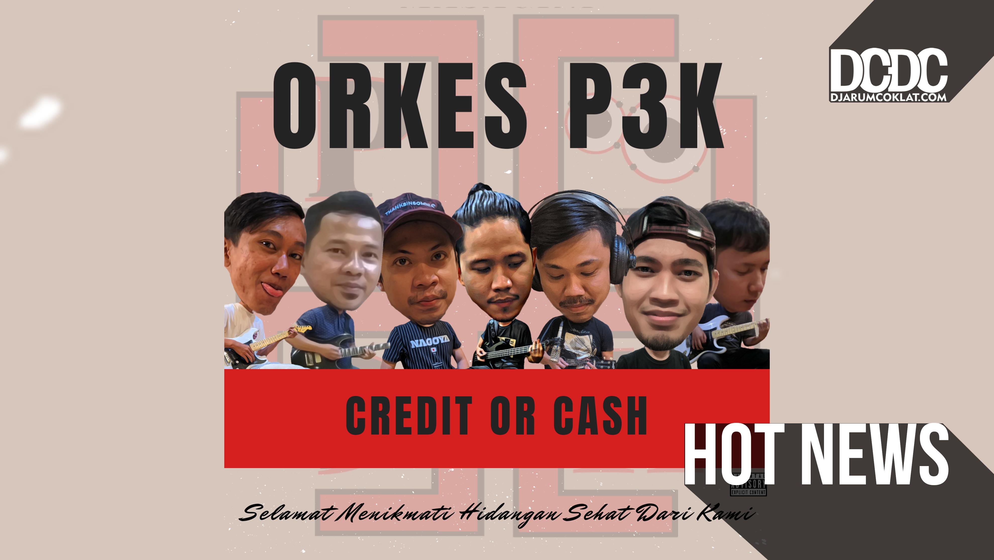 Satu Dekade Absen, Orkes P3K Rilis EP 'Credit Or Cash'