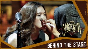 BEHIND THE STAGE: SARAH SAPUTRI Xx LONER LUNAR