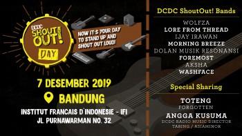 DCDC ShoutOut! Day Kembali Wadahi Potensi Band dan Musisi Bandung