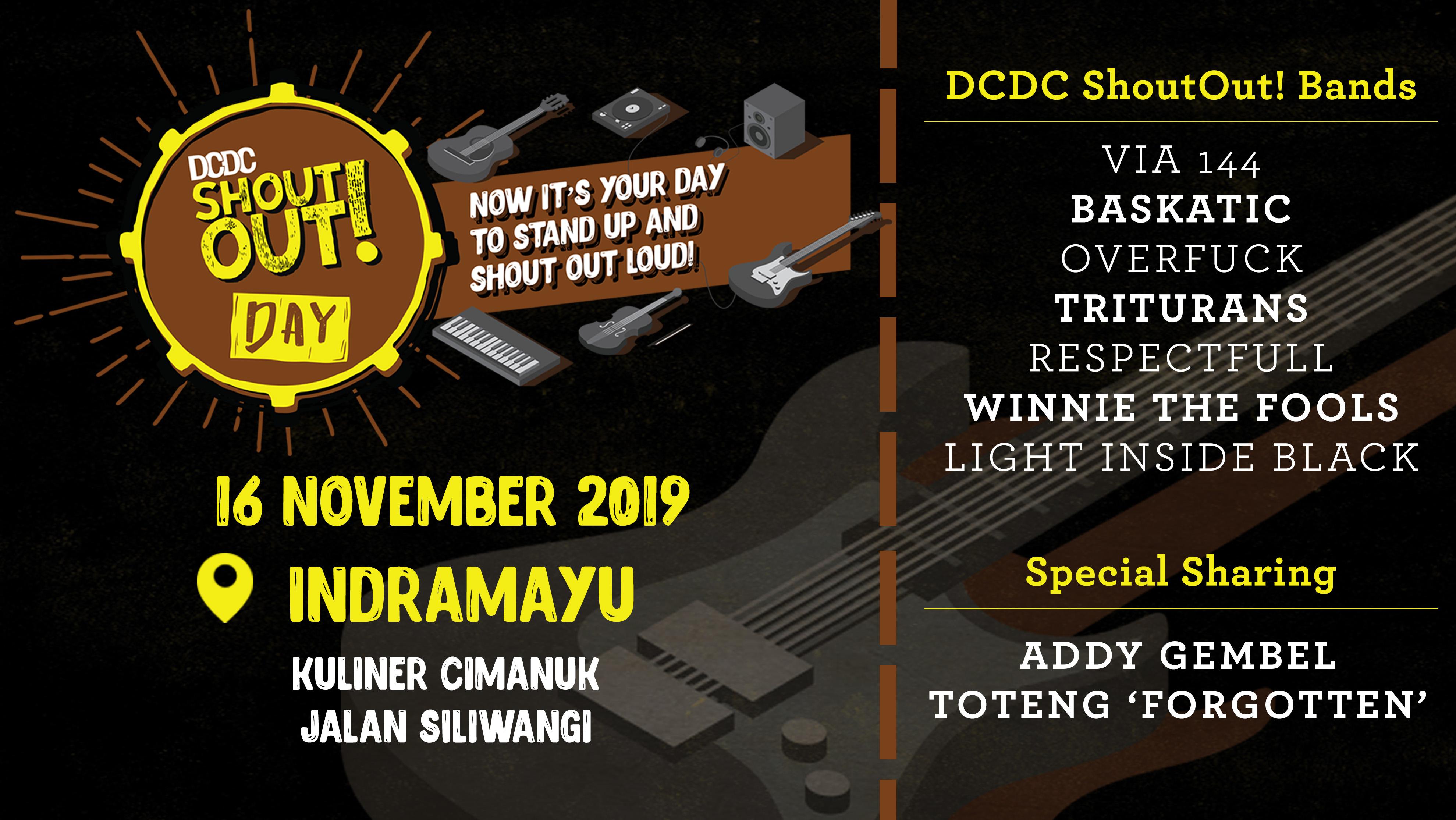 Pertama Kalinya, DCDC ShoutOut! Day Hadir di Indramayu!