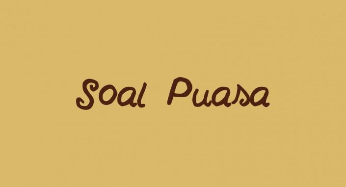 Soal Puasa