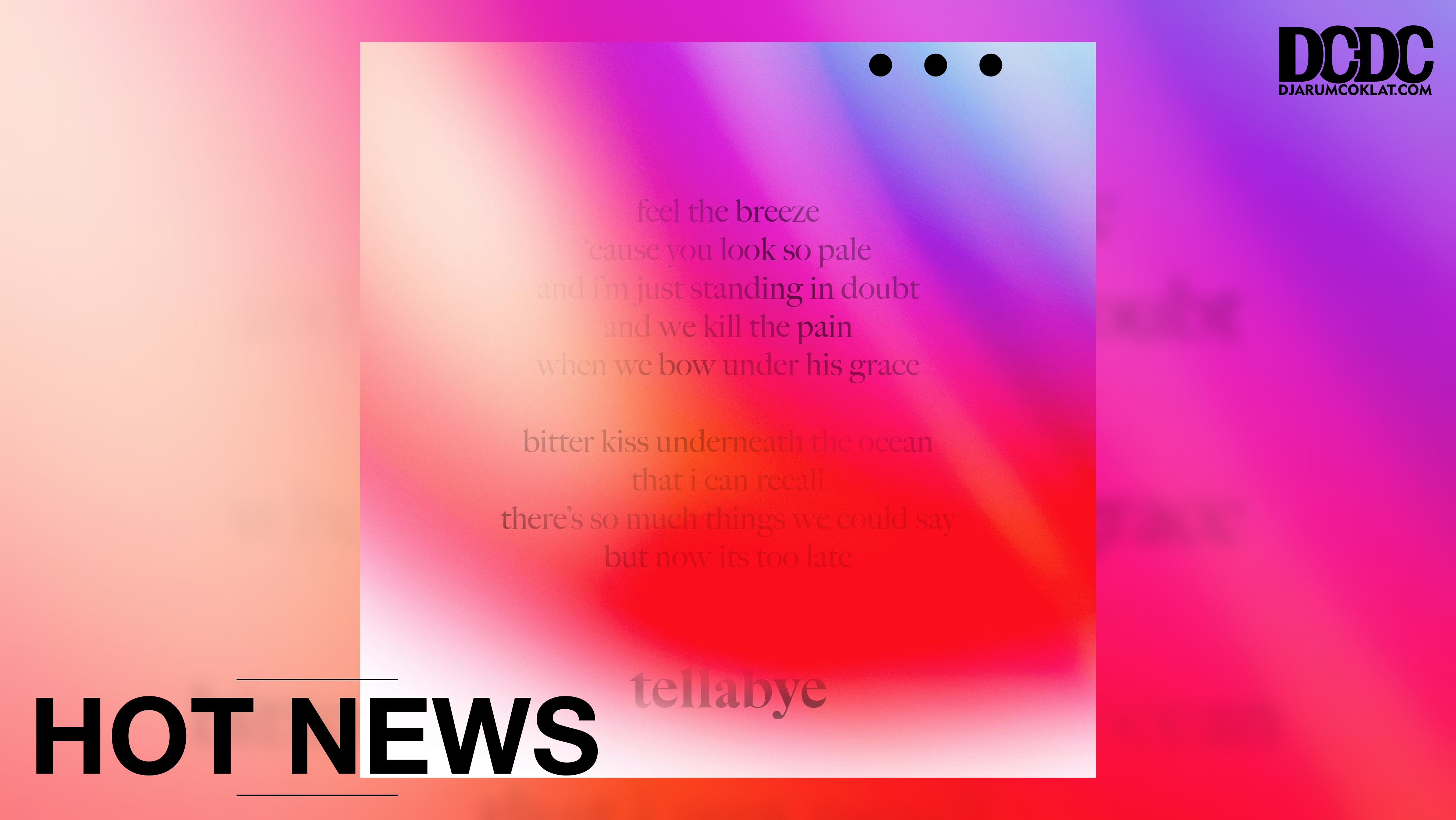 Dua Dekade Dikenal Sebagai 'Band Mitos, Sugarstar Mengganjarnya Dengan EP 'Tellabye'