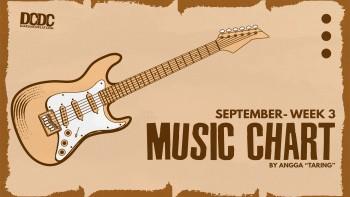 DCDC Music Chart - #3rd Week of September 2021