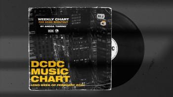 DCDC Music Chart - #2nd Week of Februari 2021