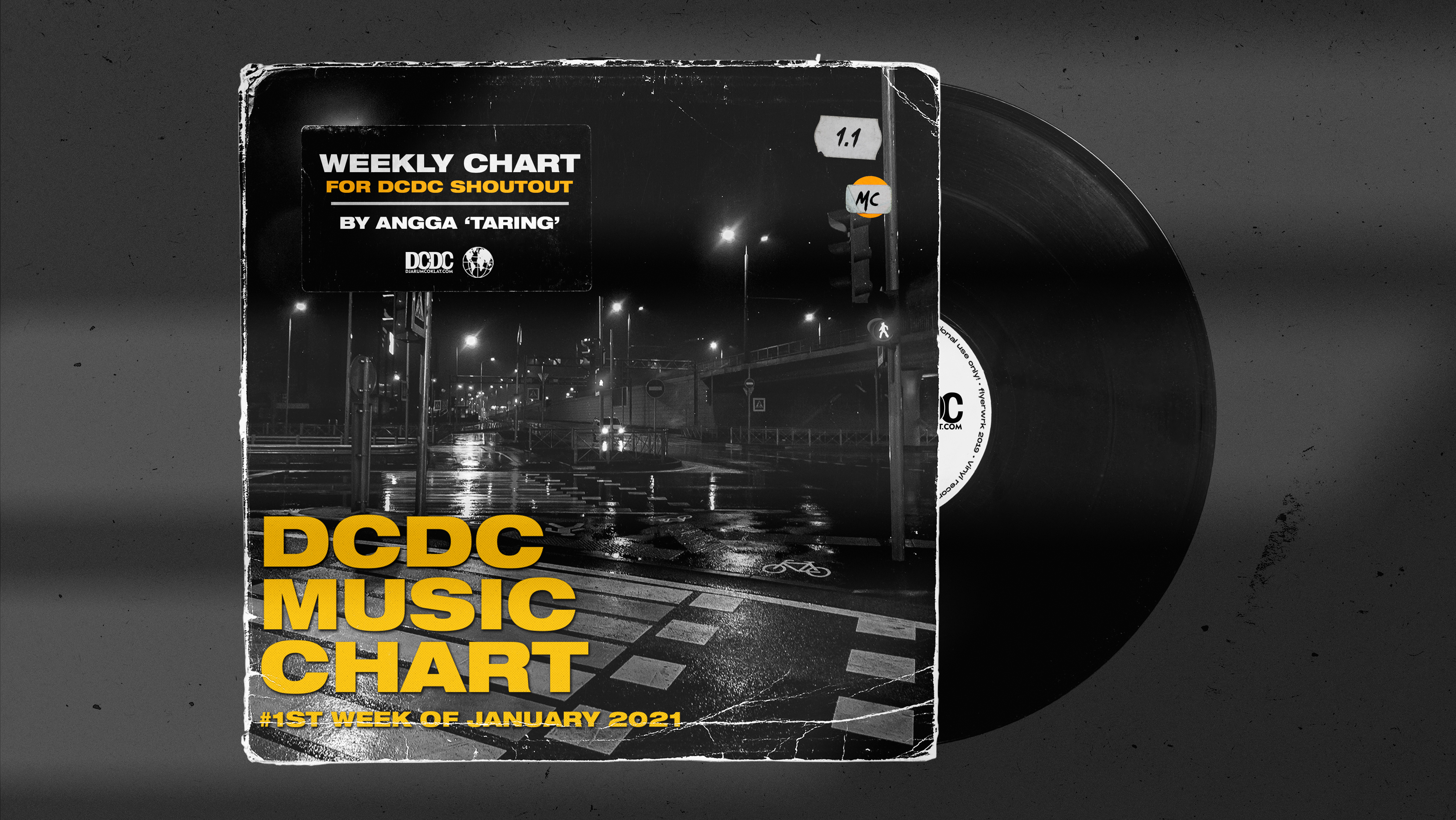 DCDC Music Chart - #1st Week of January 2021