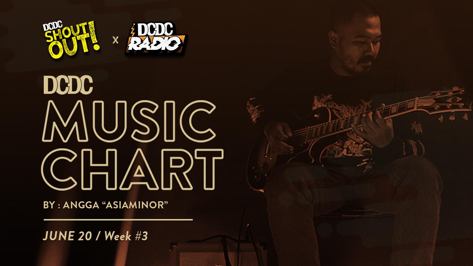 DCDC Music Chart - #3rd Week of June 2020