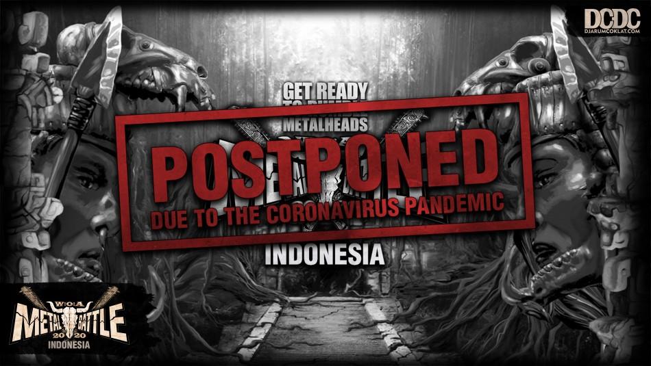 W:O:A Metal Battle Indonesia 2020 Resmi Dibatalkan