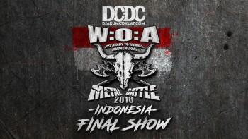 Live Streaming: Wacken Metal Battle Indonesia 2018 Final Show